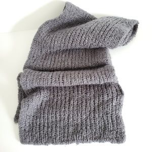 H&M  Crochet Grey Extra Long Scraf